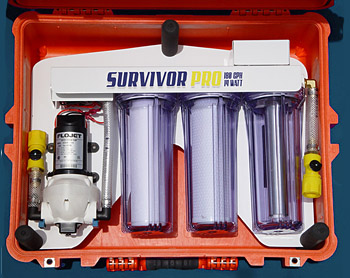 Survivor Pro Portable UV Water Filter System