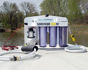 Survivor Pro Portable Emergency Water Filter System